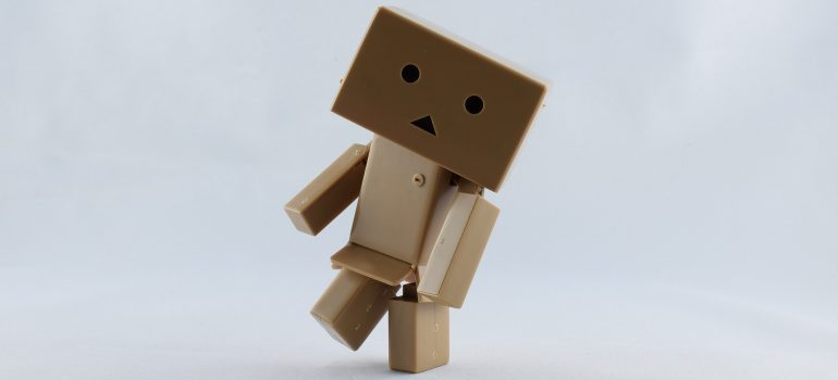 carboard robot